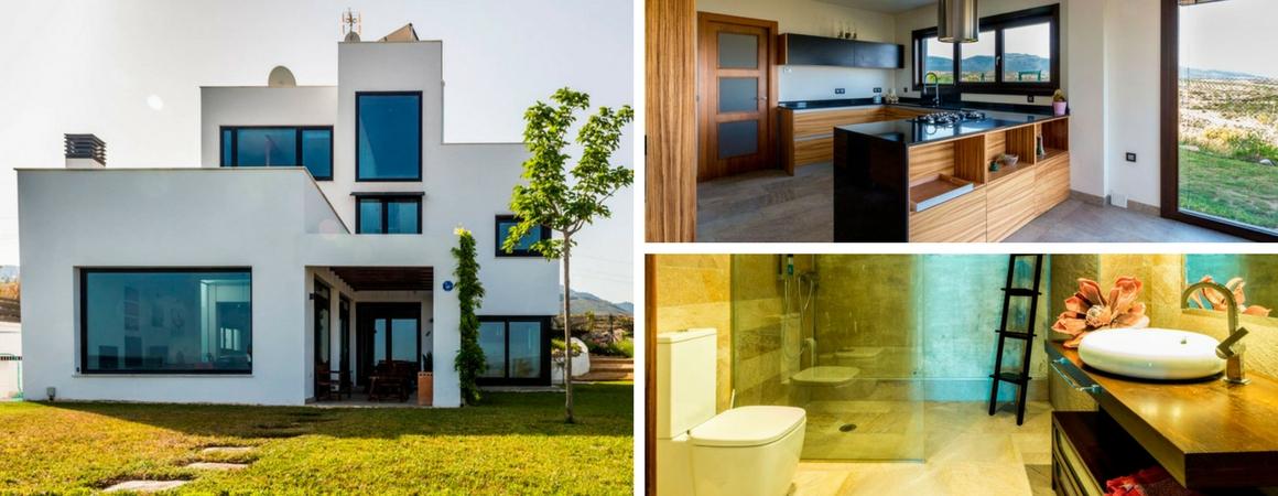 Construcci n de casas de lujo en m laga arqtecas for Casas modernas granada