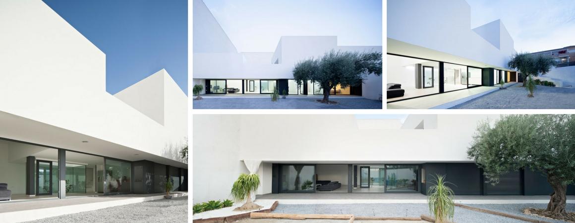 Residencias modernas de lujo interiores de casas modernas for Casas modernas granada